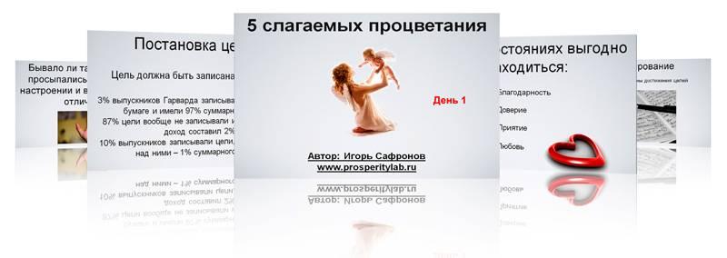 5 слагаемых успеха